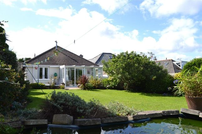 Thumbnail Detached bungalow for sale in St Georges Road, Hayle, Cornwall