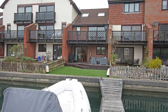 Thumbnail Town house for sale in Carne Place, Port Solent, Portsmouth