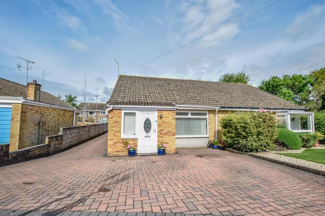 Thumbnail Semi-detached bungalow for sale in Cambourne Close, Barry