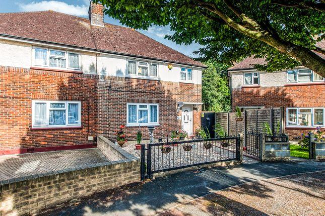 Thumbnail Semi-detached house for sale in Rushton Avenue, Watford