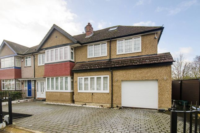 Thumbnail Semi-detached house to rent in Sylvia Avenue, Hatch End