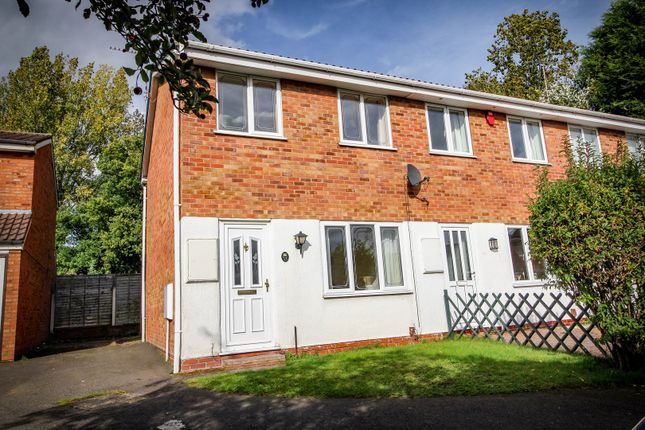 Thumbnail End terrace house for sale in Gurnard Close, Coppice Farm, Willenhall