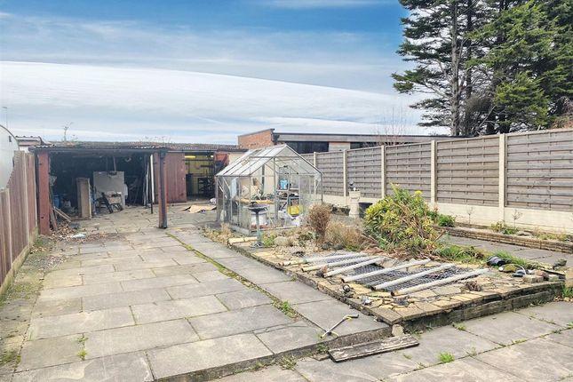 Rear Garden of Breckside Park, Anfield, Liverpool L6