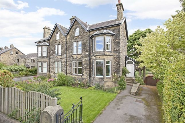 Thumbnail Semi-detached house for sale in Fernroyde, 17, Ben Rhydding Drive, Ilkley, West Yorkshire