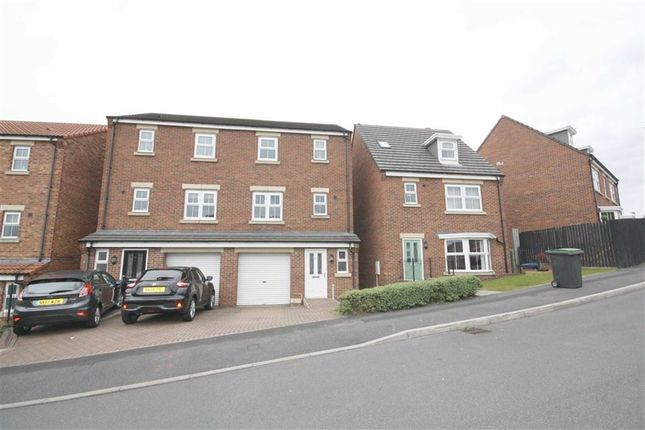 Thumbnail Town house for sale in Orchard Grove, Stanley, County Durham