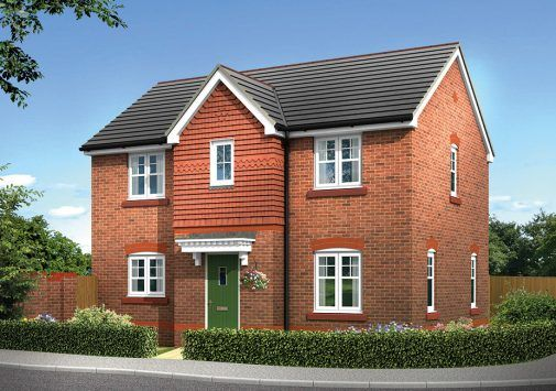 Thumbnail Detached house for sale in The Fairford Plot 89, Sandy Lane, Chester, Cheshire