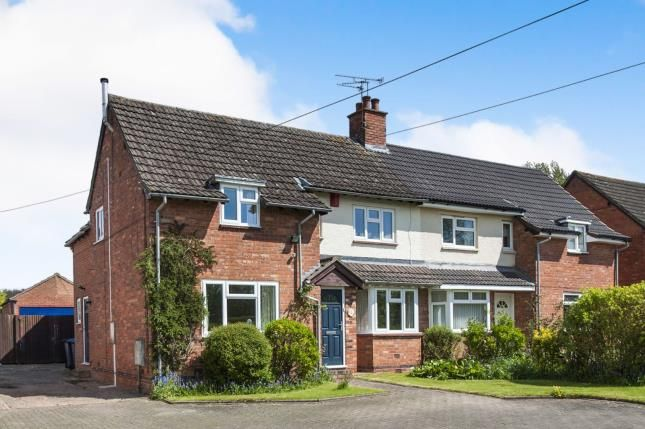 Thumbnail Semi-detached house for sale in Park Lane, Snitterfield, Stratford Upon Avon, Warwickshire