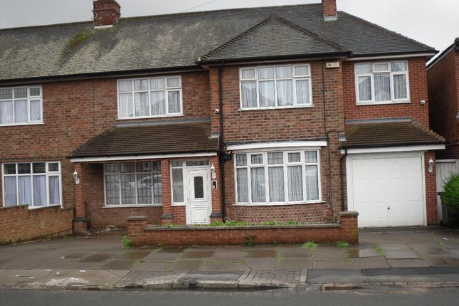 Thumbnail Semi-detached house for sale in Kingsway Road, Evington, Leicester