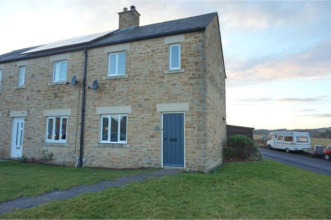 Thumbnail End terrace house for sale in St. Helens Gate, Hexham