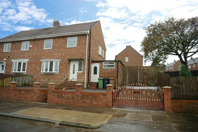 Thumbnail Semi-detached house for sale in Tasman Road, Sunderland