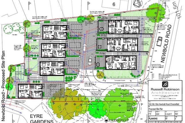 Thumbnail Land for sale in Newbold Road, Chesterfield