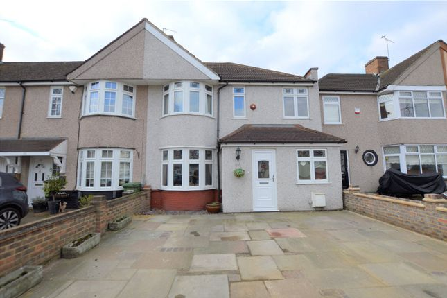 Thumbnail End terrace house for sale in Burns Avenue, Sidcup, Kent