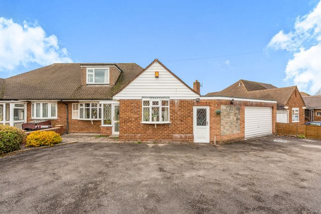 Thumbnail Semi-detached bungalow for sale in Charingworth Road, Solihull