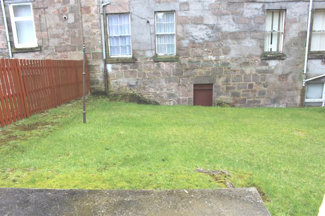Rear Garden of Wellington Street, Greenock PA15