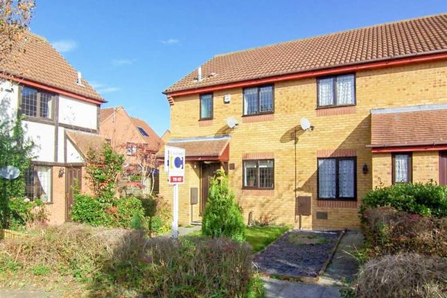 Thumbnail End terrace house for sale in Longhedge, Caldecotte, Milton Keynes