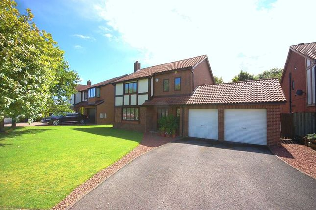 Thumbnail Detached house for sale in Berkeley Close, Killingworth, Newcastle Upon Tyne