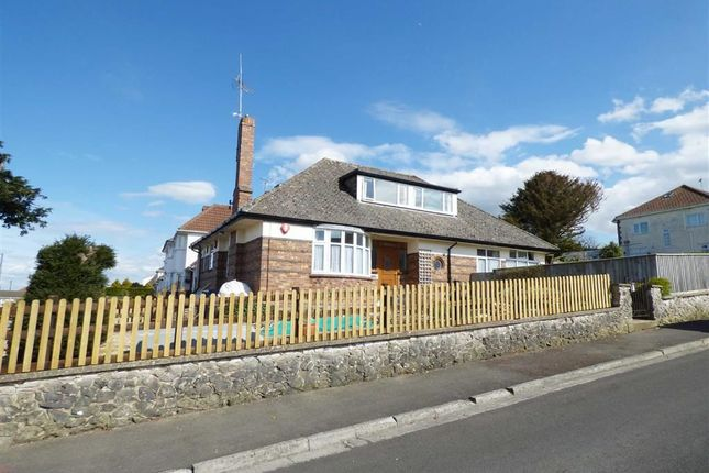Thumbnail Detached bungalow for sale in Worlebury Park Road, Weston-Super-Mare