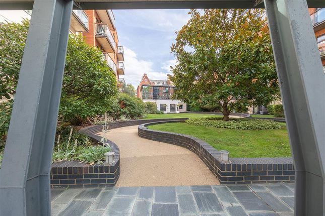 Exterior of Montaigne Close, London SW1P
