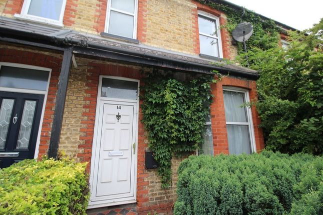 Thumbnail Terraced house to rent in Milton Road, Egham