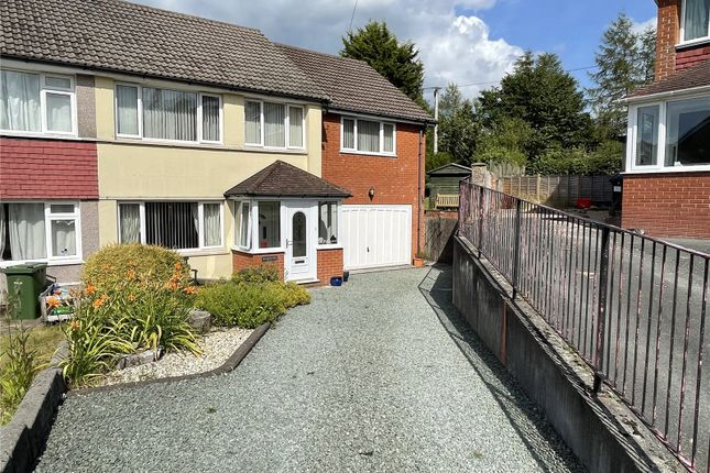 Thumbnail Semi-detached house for sale in Garden Suburb, Llanidloes, Powys