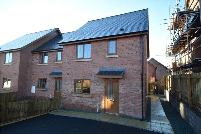 Thumbnail Terraced house for sale in Plas Trannon, Trefeglwys, Caersws, Powys