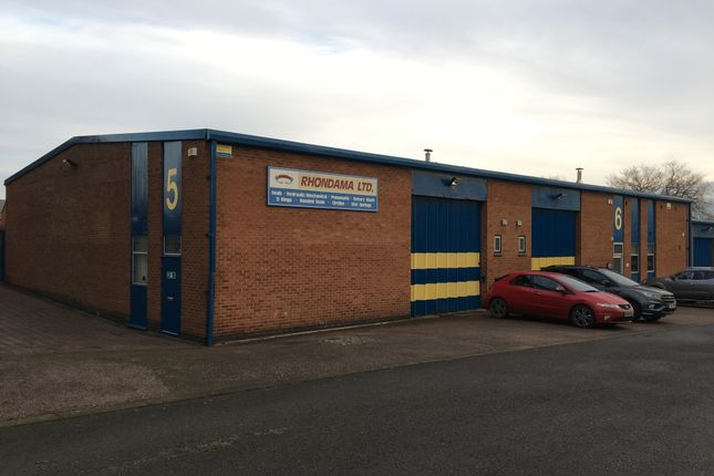 Thumbnail Industrial to let in Windmill Road, Loughborough