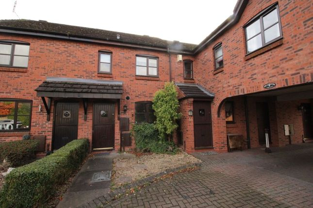 Thumbnail Terraced house to rent in Pellfield Court, Weston, Stafford