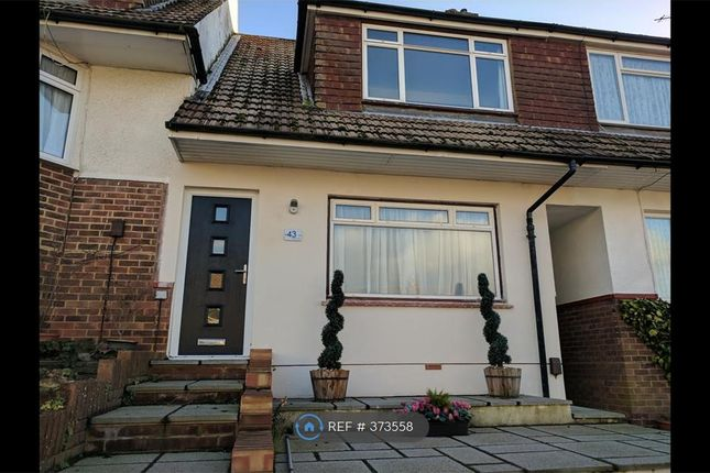 Thumbnail Terraced house to rent in Thornhill Rise, Brighton