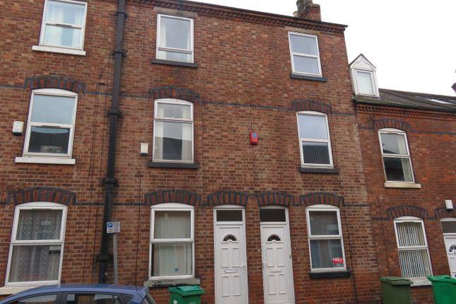 Thumbnail Terraced house to rent in Hart Street, Lenton, Nottingham