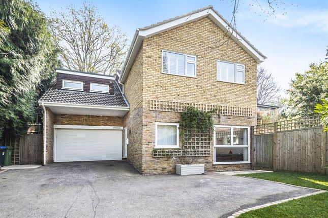 Thumbnail Detached house for sale in Cinder Path, Hook Heath, Woking