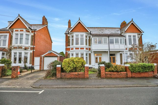 Thumbnail Semi-detached house for sale in Highfield Road, Heath, Cardiff