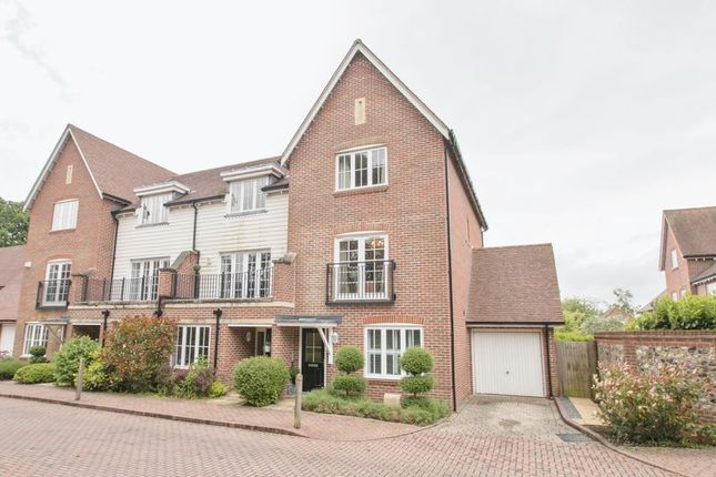 Thumbnail Town house for sale in Wealden Drive, Westhampnett, Chichester