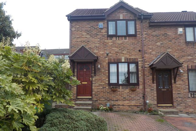 Thumbnail Semi-detached house to rent in Capas Heights Way, Heckmondwike, West Yorkshire