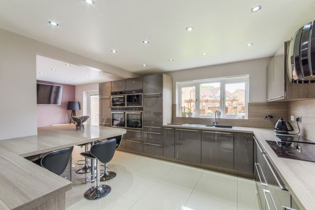 Thumbnail Detached house for sale in Woburn Way, Normanton