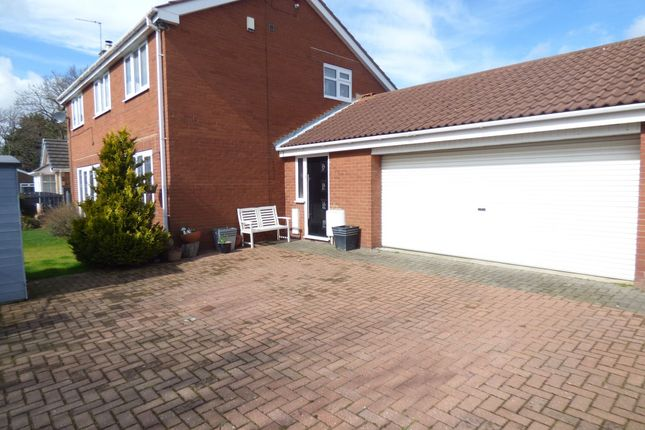 Thumbnail Detached house for sale in Malvins Close, Blyth