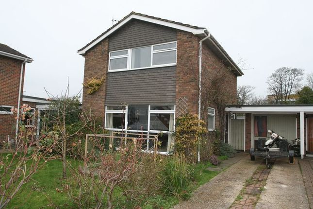 Thumbnail Detached house for sale in Kithurst Close, Goring-By-Sea, Worthing