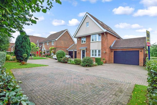 Thumbnail Detached house for sale in Peregrine Road, Kings Hill, West Malling, Kent