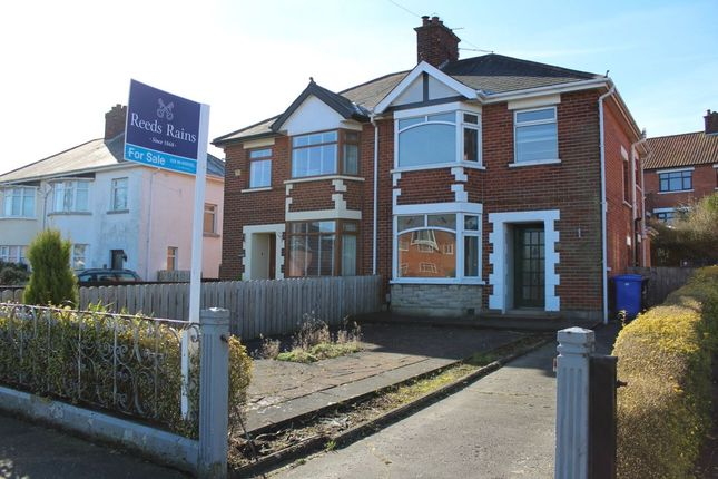 Thumbnail Semi-detached house for sale in Circular Road, Belmont, Belfast