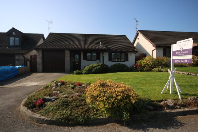 Thumbnail 2 bed detached bungalow for sale in Dolwen Road, Betws Yn Rhos