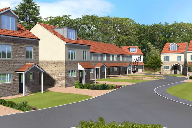 Thumbnail Town house for sale in Plot 3 Abbeystone Way, Monk Fryston, Leeds