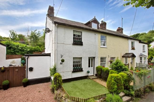 Thumbnail End terrace house for sale in Christow, Exeter, Devon