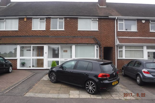 Thumbnail Terraced house to rent in Ringinglow Road, Birmingham