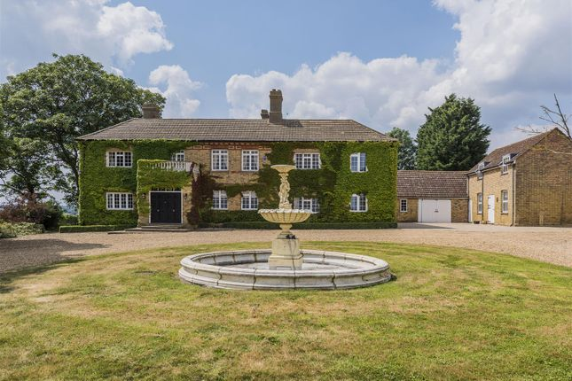 Thumbnail Detached house for sale in Woolley Road, Alconbury, Huntingdon, Cambridgeshire