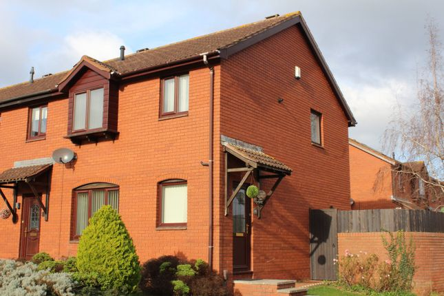 Thumbnail End terrace house to rent in Pinwood Meadow Drive, Exeter