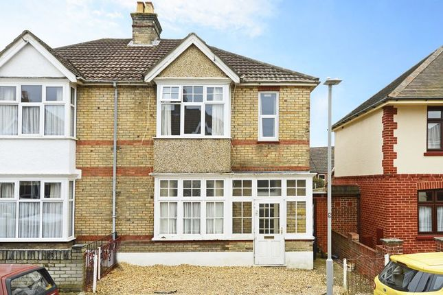 Thumbnail Semi-detached house for sale in Hillman Road, Poole