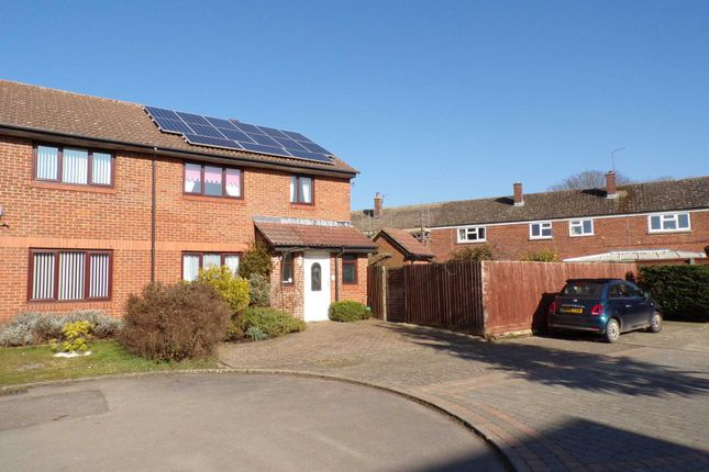 Thumbnail Semi-detached house for sale in Truemper Grove, Caversfield, Bicester