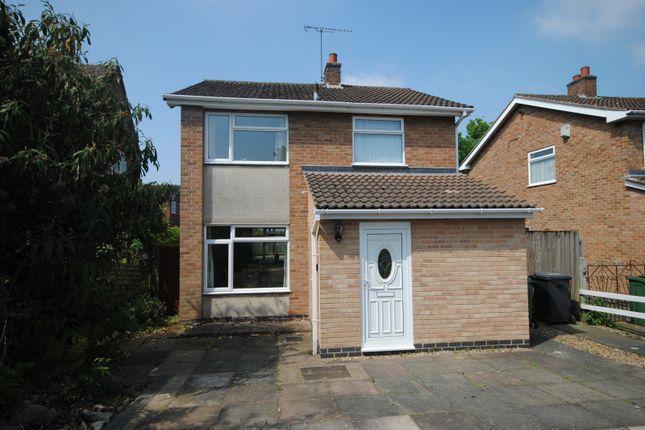 3 bed detached house to rent in Halstead Road, Mountsorrel, Loughborough