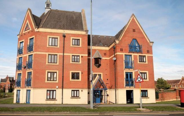 1 bed flat to rent in Trinity Mews, Thornaby, Stockton-On-Tees TS17