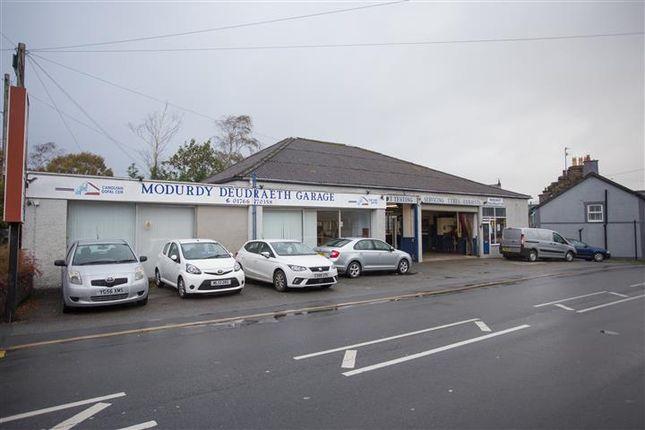 Thumbnail Commercial property for sale in Penrhyndeudraeth, Gwynedd, 6