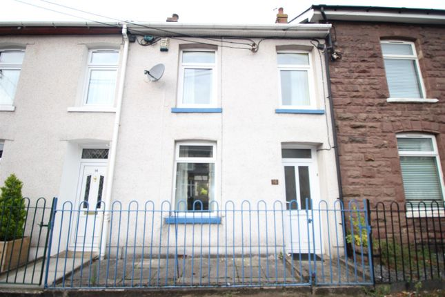 Thumbnail Terraced house to rent in Park Place, Risca, Newport